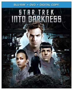 New Blu-ray and DVD movies this week include Star Trek Into Darkness (Chris Pine), Love Is All You Need (Pierce Brosnan), and Thomas & Friends: Animals Aboard