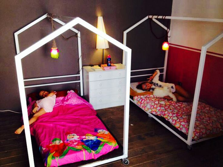 Two tiny houses for our younger girls ..