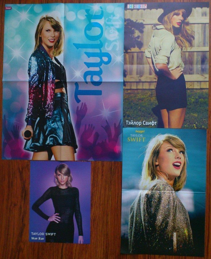 TAYLOR SWIFT Posters Magazine | eBay