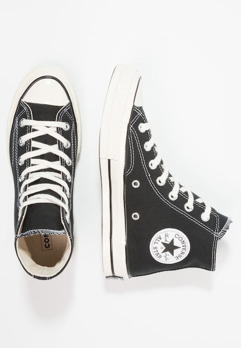Converse CHUCK TAYLOR ALL STAR 70 HI - Zapatillas altas - black - Zalando.es 5fd4ea887cd