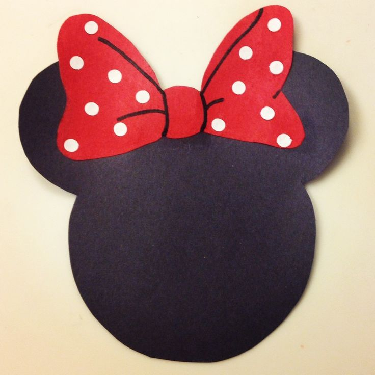 Minnie Mouse inspired door decs I made for my all female residents!