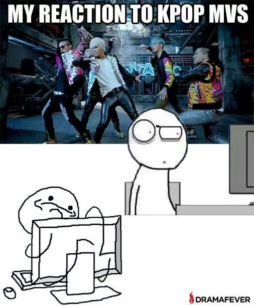 Mmmmmhm Xd This explains the stages of me getting into Kpop perfectly!