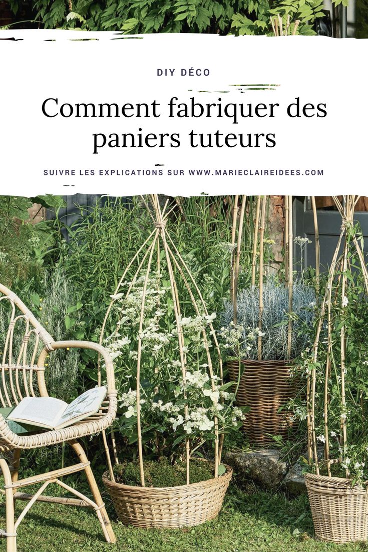 les 25 meilleures id es de la cat gorie tuteur plante sur pinterest tuteur jardin treillis en. Black Bedroom Furniture Sets. Home Design Ideas