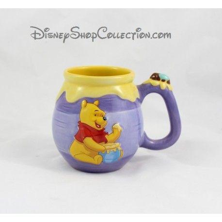 Mug Winnie l'ourson DISNEYLAND PARIS pot de miel Hunny céramique