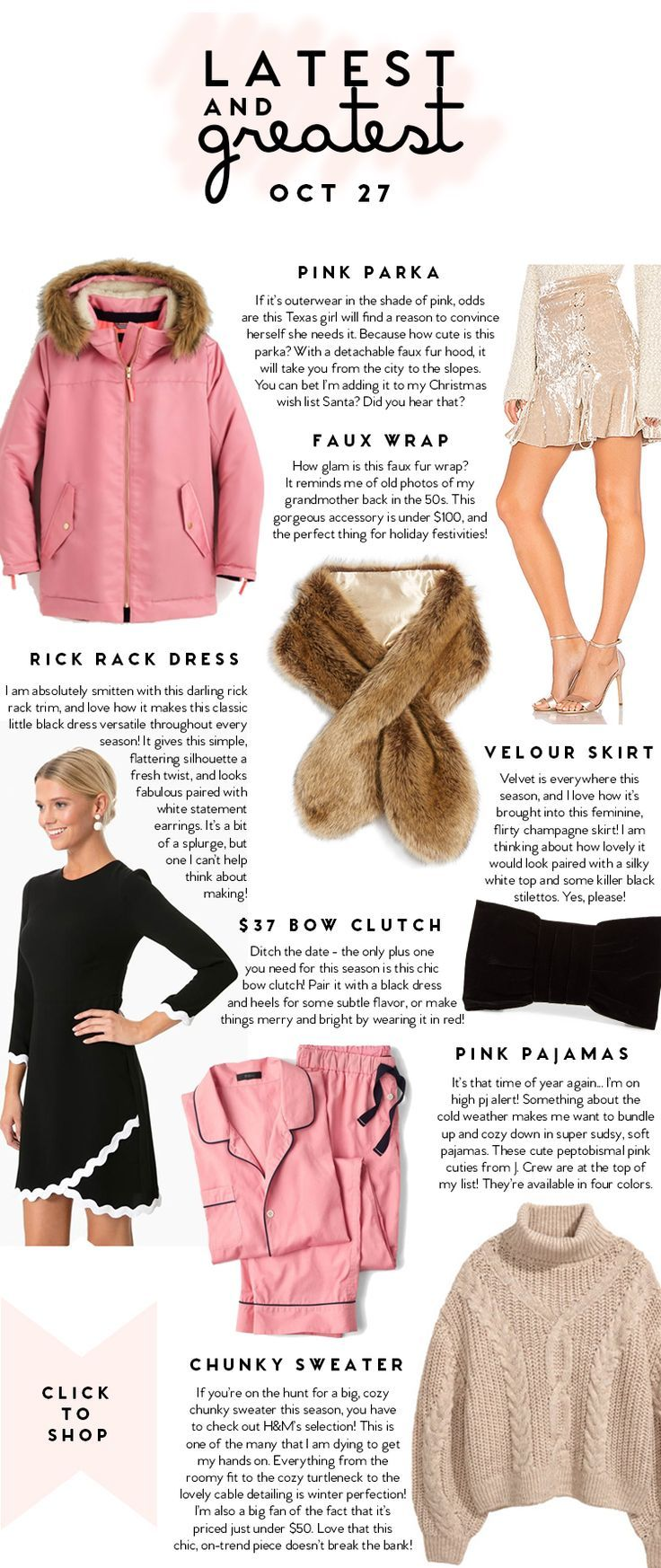 Latest and Greatest | October 27 | best fashion and beauty this week || a lonestar state of southern