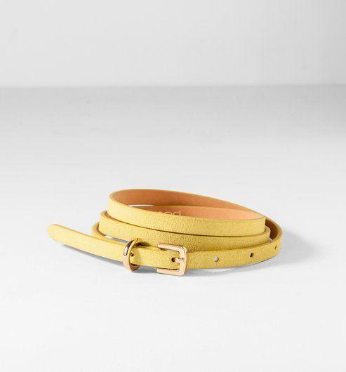 Narrow+leather+belt