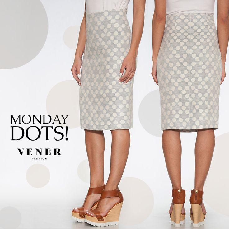 Απολαύστε τη μόδα με τη VENER! Σήμερα σας προτείνουμε την πουά υφασμάτινη φούστα της SS2016 σε ίσια γραμμή μέχρι το γόνατο! http://www.vener.gr/gr/online-store/foustes-vener/63330 #vener #fashion #fousta #ss2016