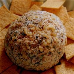 Spinach Cheese Ball #vintage #recipe