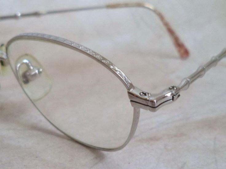 Takeo Kikuchi Round Lennon Eyeglasses Silver Wire Rim Unisex Sunglasses Bamboo Japan Glasses 48-20 Hipster Prof Vintage Costume Movie Prop by MushkaVintage3 on Etsy