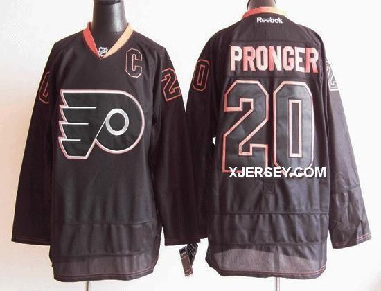 http://www.xjersey.com/philadelphia-flyers-20-pronger-ice-black-jerseys.html PHILADELPHIA FLYERS 20 PRONGER ICE BLACK JERSEYS Only $46.00 , Free Shipping!
