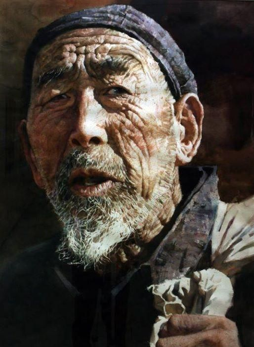 Best Watercolor Portraits By Famous Artists - Fine Art Blogger-artist of this painting -Yie Yian Min