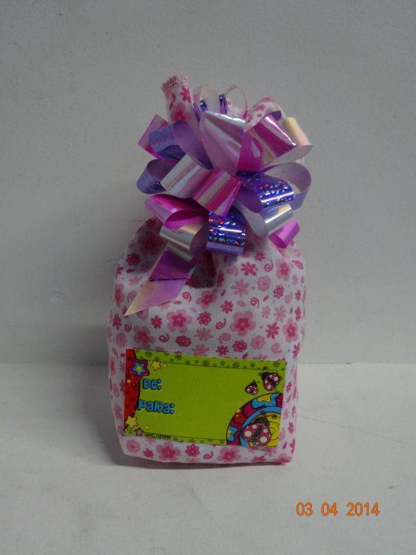 Estuche chocolates bolsa ecológica impresa. #ChocolatesPersonalizadosPereira #ChocolatesParaRegalarCali