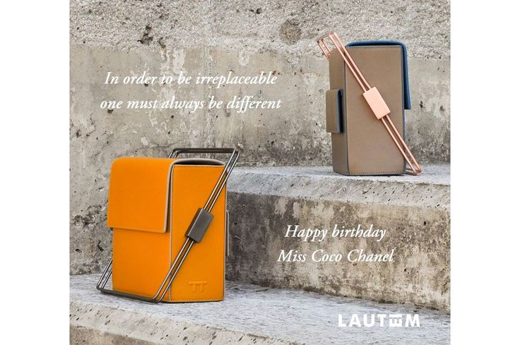 """In order to be irreplaceable one must always be different"". Coco Chanel. www.lautemshop.com"