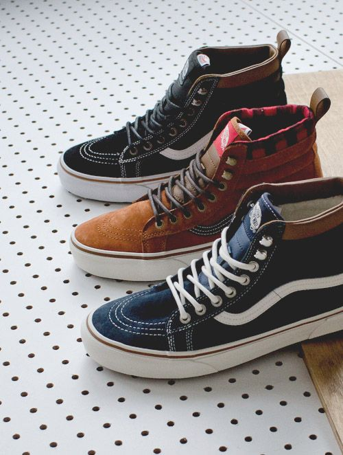 Sk8-hi #vans | Raddest Men's Fashion Looks On The Internet: http://www.raddestlooks.org