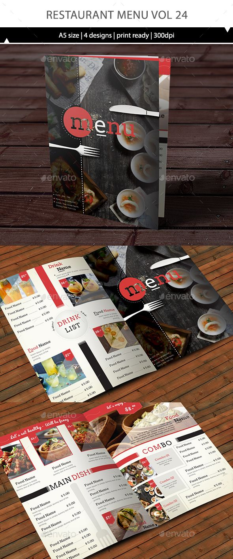 Restaurant Menu Template Vector EPS, AI #design Download: http://graphicriver.net/item/restaurant-menu-vol-24/14466484?ref=ksioks