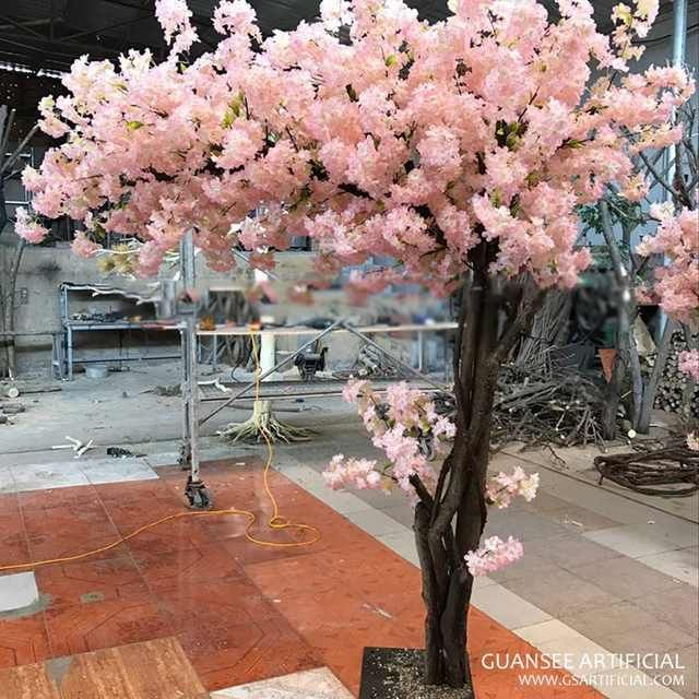 Source Large Outdoor Artificial Cherry Blossom Tree With Real Touch Silk Sakura Flower On M Al Artificial Cherry Blossom Tree Cherry Blossom Tree Blossom Trees