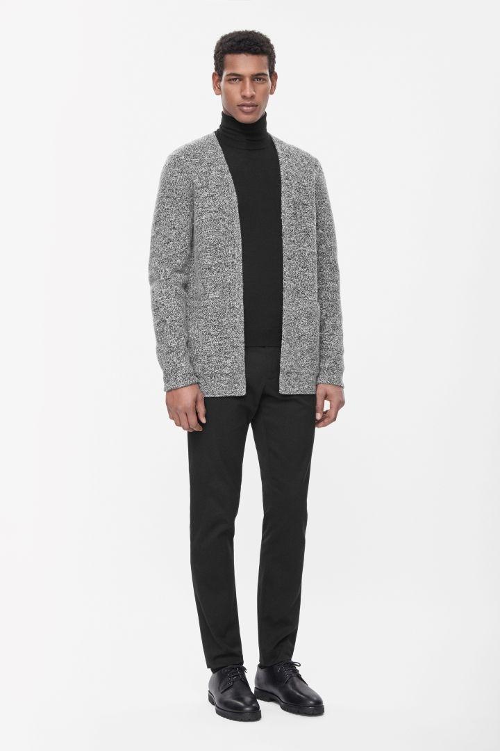COS   Boiled wool cardigan