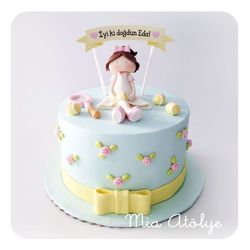 Tennis player cake