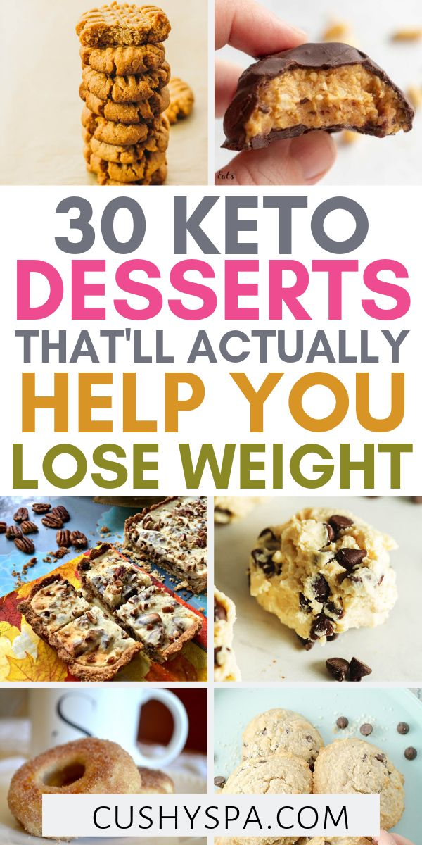 30 Keto Desserts That'll Actually Help You Lose Weight
