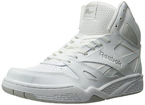 Reebok Men's Royal Bb4500 Hi Fashion Sneaker, White/Steel, 12 M US  Oklahoma. Zapatillas ...