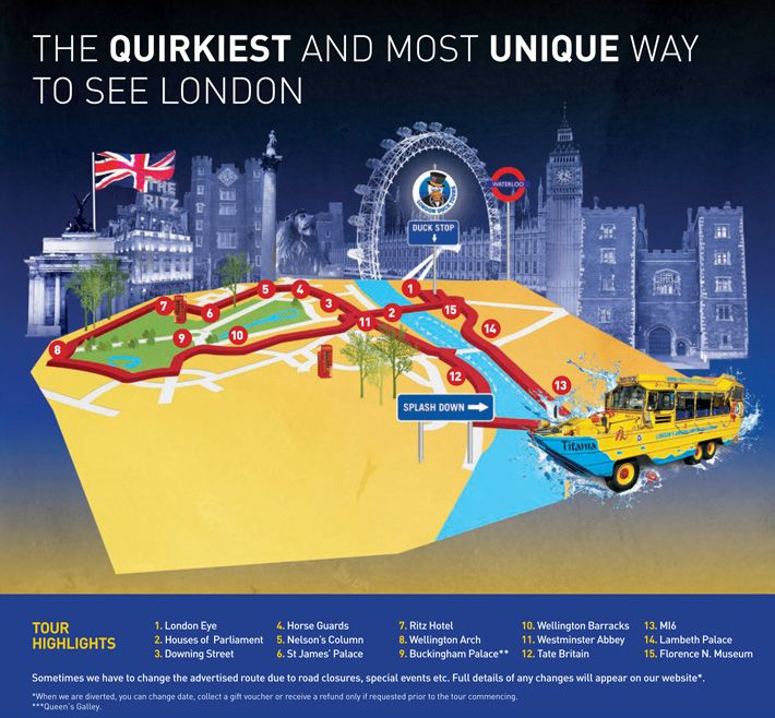 Classic Sightseeing Tour | [Official] London Duck Tours. This is a great way to see London as a lot of famous historical sites are on the river.