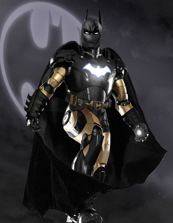What an Iron Man Batsuit might look like. Interesting...what do you think?