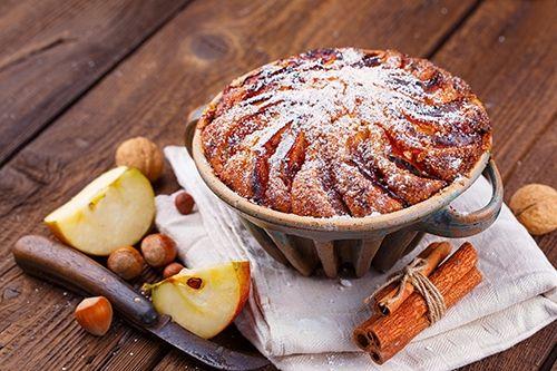 Bizcocho de manzana y canela te ense amos a cocinar for Cocinar zarzuela