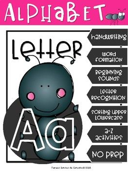 Alphabet Letter A Alphabet Kindergarten Pinterest Alphabet