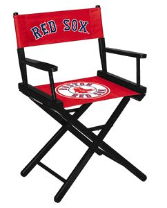 Boston Red Sox Director Chair Game Rooms Nfl Table