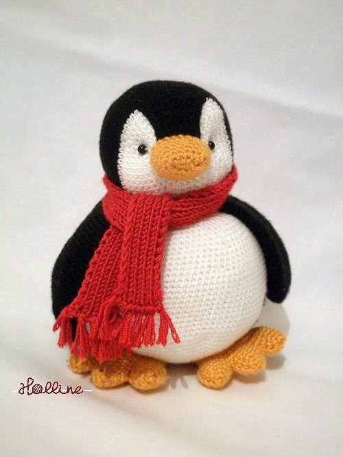 Návod: Háčkovaný tučňák