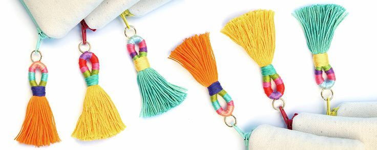 Make colorful Tassel With our DIY project