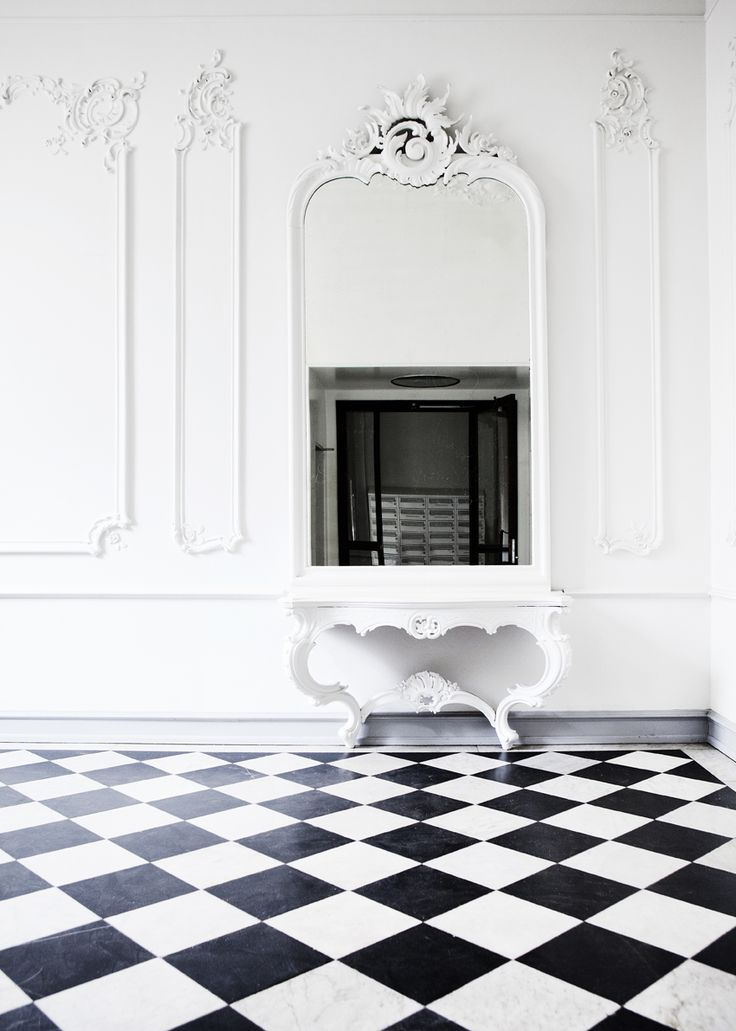 black and white floor need this voor