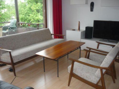 60er 70er jahre teak sofa daybed sessel tisch danish for Wohnzimmer 60er 70er