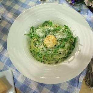 Image for Pasta med ärtor, parmesan och mynta
