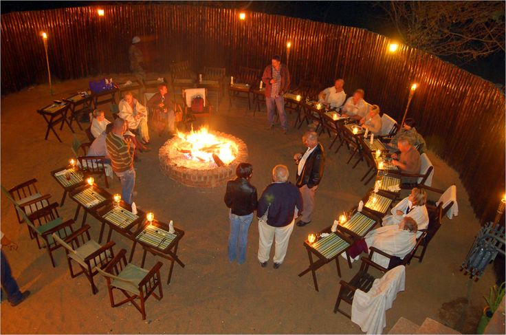African Boma - Dining Area