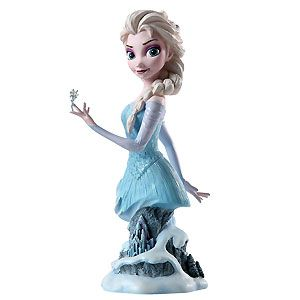 #Frozen - Elsa - Bust - Walt Disney Mini Busts - World-Wide-Art.com #Disney