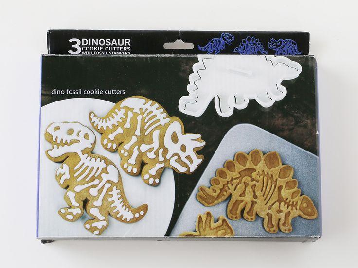 恐竜の化石クッキー型 3個セット 動物 虫 魚 お菓子 パン材料 ラッピングの通販 Cotta コッタ クッキー型 恐竜の化石 恐竜 クッキー