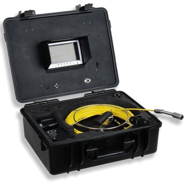 http://www.termometer.se/Handinstrument/Inspektionskamera/Inspektionskamera-for-avlopp-skorstenar-ror-kabelkanaler-40m-kabel.html  Ny inspektionskamera för avlopp, skorstenar, rör, kabelkanaler- 40m kabel - Termometer.se  En portabel, kompakt kamerautrustning för inspektion av avlopp, skorstenar, rör, kabelkanaler, väggkaviteter och andra svårtillgängliga områden.  Med den inbyggda färgskärmen gör det enkelt att se varje detalj. Du kan justera ljusstyrka, kontrast, färg, skärpa och ljus...