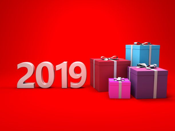 New Year 2019 Gifts Wallpaper Hd Free Background  Happy new year