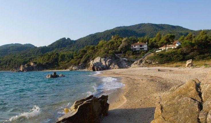 Fava Vourvourou. #Beach in #Sithonia #Halkidiki #travel #holidays