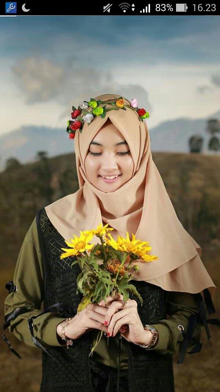 Hijab Bunga Surga Jilbab Cantik Fotografi Hijab