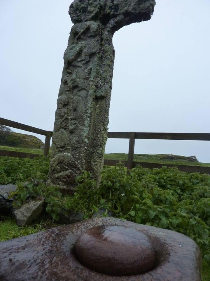The Bullaun Stone on Canna