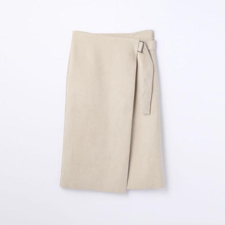 フェイクスエード ラップスカート(11056405131) | スカート | ウエア | ウィメンズ | TOMORROWLAND | トゥモローランド 公式通販