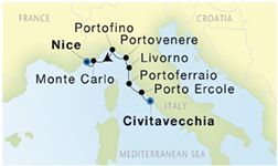 SEADREAM-FEATURING 2 WINEMAKERS CIVITAVECCHIA (ROME) TO NICE Oct 6 - Oct 13, 2018  |   If of interest to you give me a call/email at information below  jpringle@cruiselady67