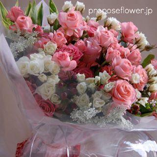 #薔薇#バラ #ピンクの薔薇#バラの花束#薔薇花束 #花屋 #フラワーショップ #flowershop #flowerdesign #プロポーズフラワー #propose #プロポーズ花束