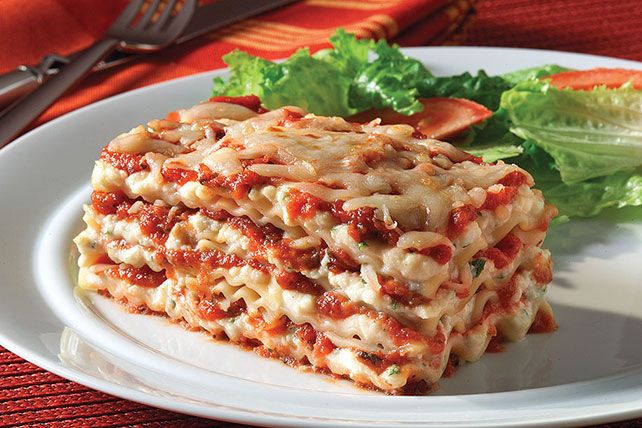 This lasagna recipe is meant for two—not a crowd. It makes just enough servings to share today and have leftovers for tomorrow.