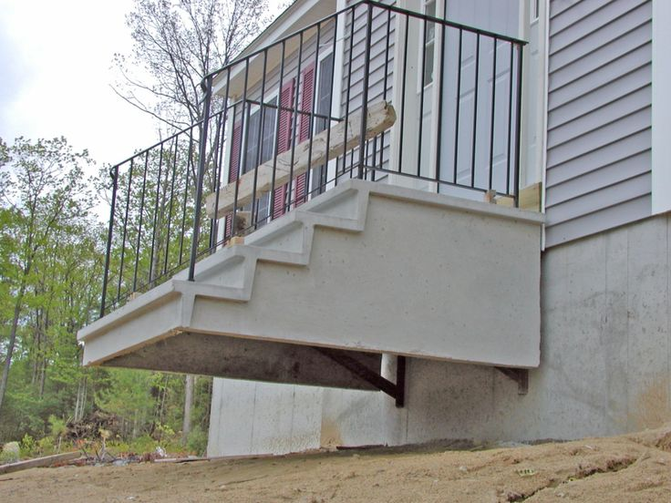 Are You Worried About Your Pre Cast Concrete Steps Sinking