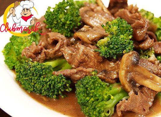 Resep Hidangan Lauk Daging Sapi Saus Tiram, Masakan Sehat Untuk Diet, Club Masak
