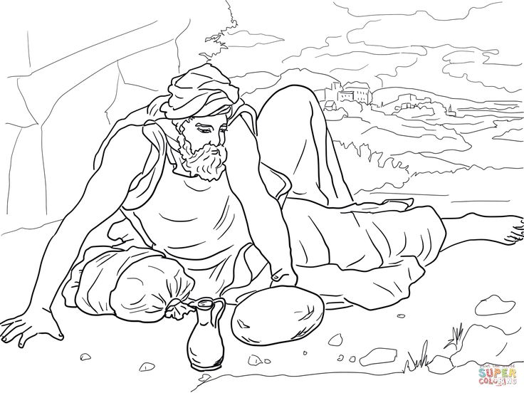 elijah coloring pages coloring pages for free