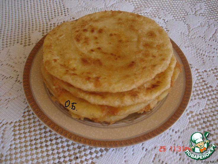 Лепешки с сыром за 5 минут ингредиенты
